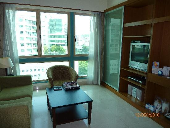 Somerset Bencoolen: Living Area