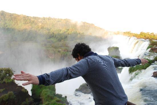 Puerto Libertad, Argentina: Volando por iguazu