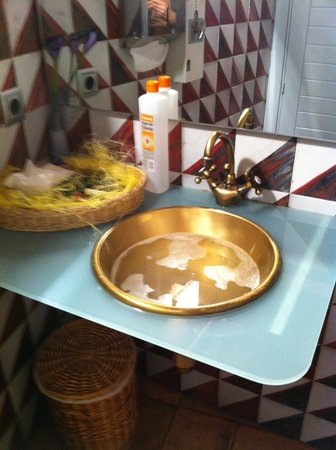 El Palacete Restaurante: Baño