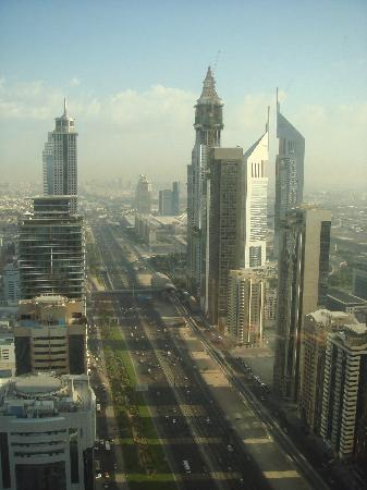 Al Salam Hotel Suites: View from room (48th Floor)