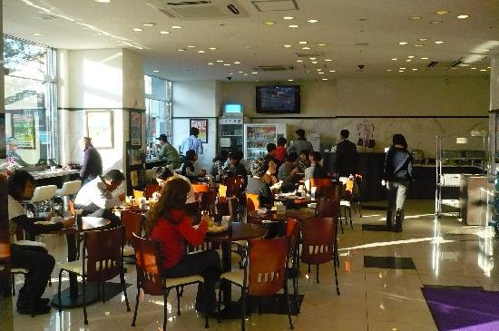 Toyoko Inn Seoul Dongdaemun: Breakfast area