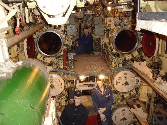 U-Boot Museum Hamburg: Torpedo Chambers