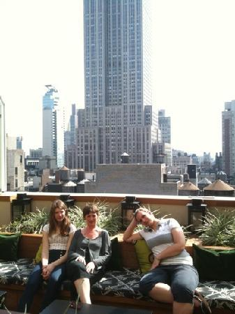 Marriott Vacation Club Pulse, New York City : The roofbar is the best