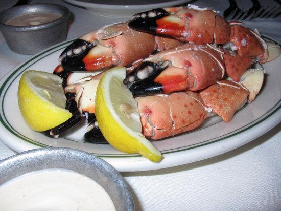 Joe's Seafood, Prime Steak & Stone Crab: Stone Crabs