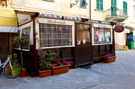 Santo Stefano al Mare, Italy: Exterior shot of the restaurant