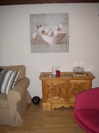 Graechen, Switzerland: Livingroom