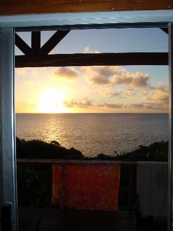 Coral Gardens: View from the fale