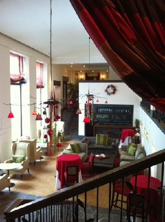 Auberge Saint-Antoine: salon du bas
