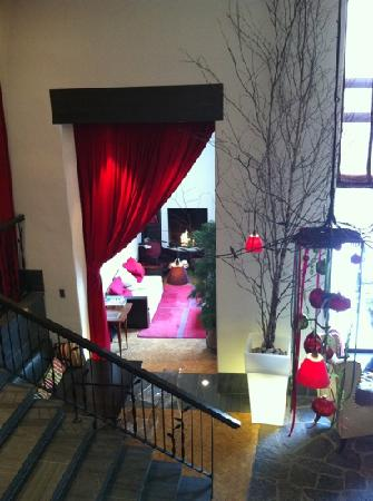 Auberge Saint-Antoine: petit salon intime