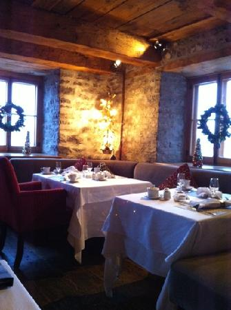 Auberge Saint-Antoine: restaurant le Panache