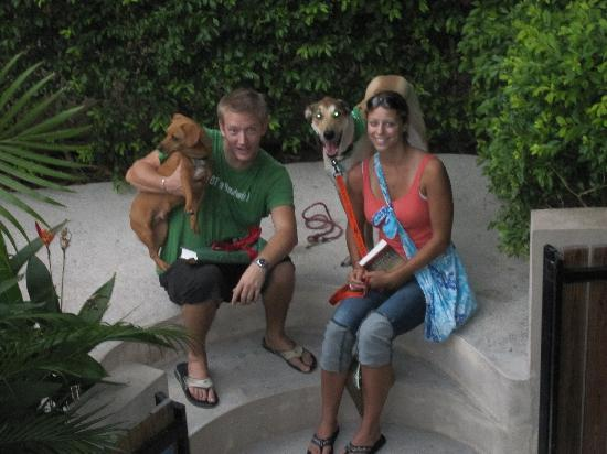 Casa de Tortuga: Matt & Caitlin and doggies!