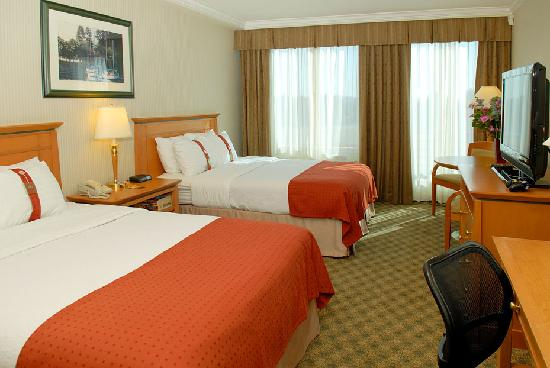 Spacious guest rooms and suites