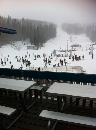 Sunrise Park Resort: at a storm