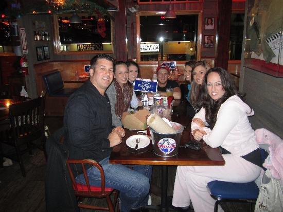 Bubba Gump Shrimp Co.: Dinner with fam at Bubba Gumps