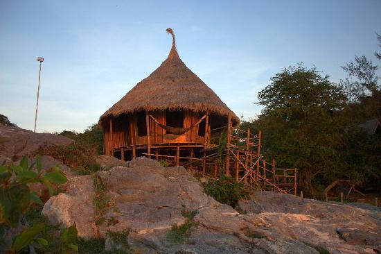 Ko Si Chang Island: our amazing room at Paree Hut..