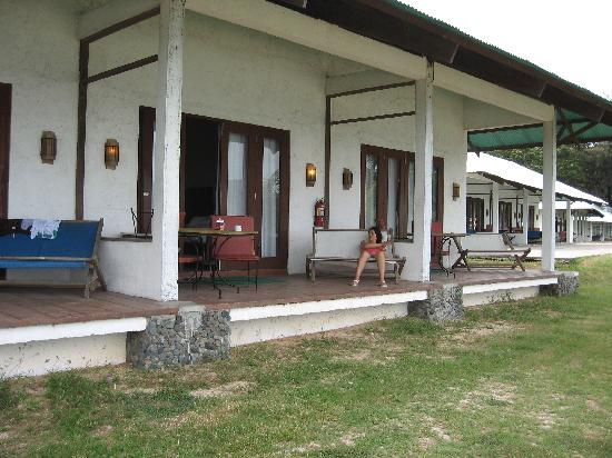 Grande Island Resort: unit verandas