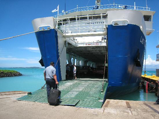 Va-i-Moana Seaside Lodge: Ferry over to Savai'i