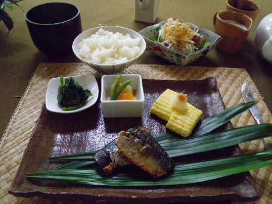 Royal Villa Jepun: こだわりの朝食;和食