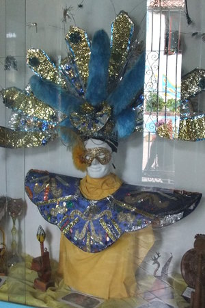 Museo del Carnaval : Exhibit at the museum