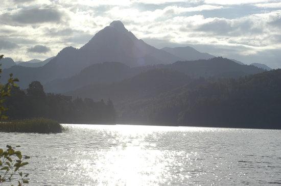 Dreimaderlhaus: Uitsicht op de bergen