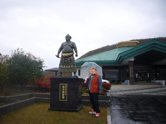 Yokozuna Kitanoumi Memorial Hall: すぐそばに煙を吐く有珠山 ...