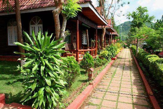 Hill Top Villa Resort Kalaw : Bungalows del Hill Top Villa
