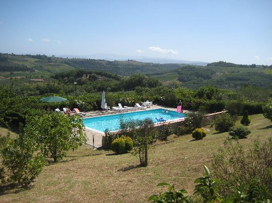 Le Pianore: View of one of the pools