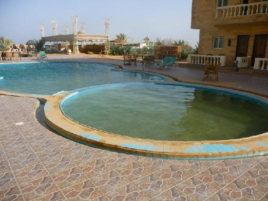 Ciao Nuweiba Hotel: The pool when we arrived