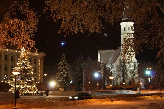 Siauliai, Lituania: plaza del ayuntamiento