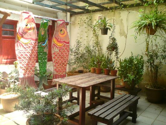 Da Som Inn: charming little garden