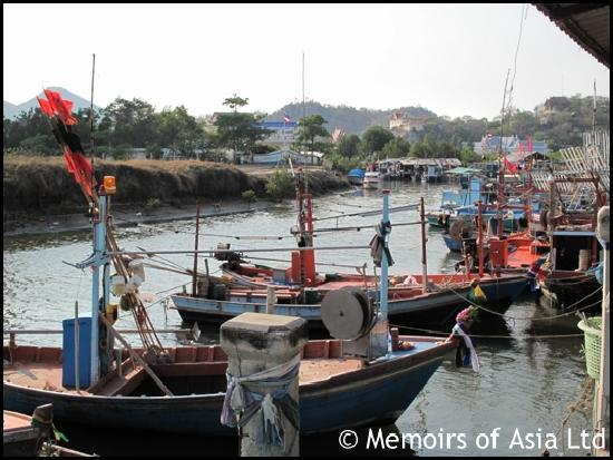 Memoirs of Asia Day Tours: fishing boats