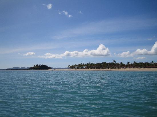 Chez Eugenie: La plage vue de la mer