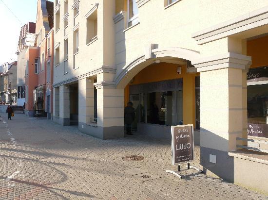 Elblag, Poland: abseits der Einkaufsstraße