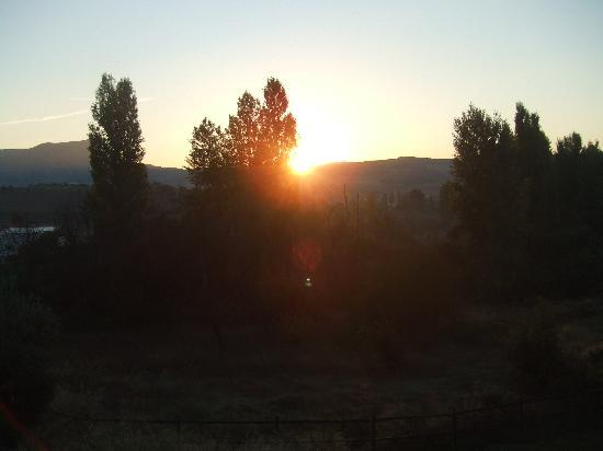 Serrato, Spain: sunrise Canamero