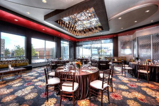 Renaissance Boston Hotel at Patriot Place: Ballroom with view of Patriot Place & Gillette Stadium