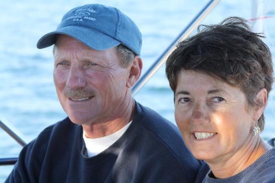 Shelburne, Kanada: Capt. Ken & First Mate Sherri Taylor