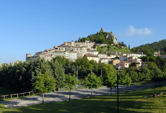 Casa Vacanze Campotondo: veduta del borgo di Campiglia D'Orcia