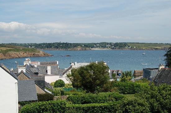 Vue des chambres c t mer et jardin h tel de l 39 aven - La cremaillere cote mer et hotel cote jardin ...