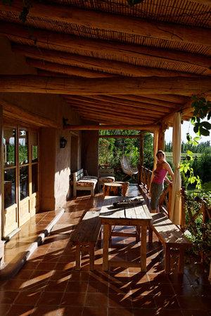 El Rancho de Carmen: La terrasse
