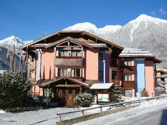 Hotel Quadrifoglio in inverno