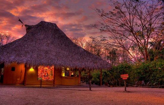 Hotel Mauna Loa: reception sunset