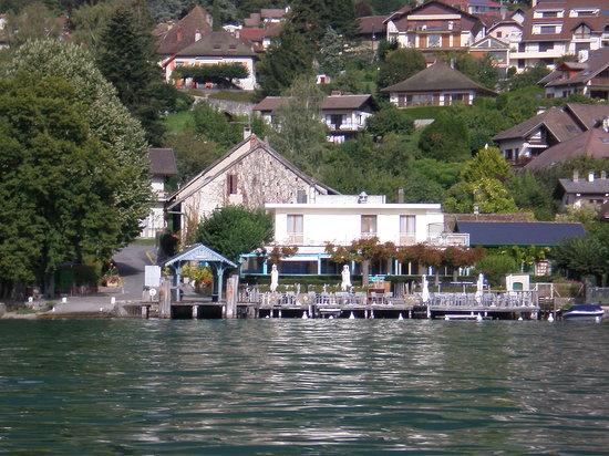Veyrier-Du-Lac, France: Hotel vue du lac