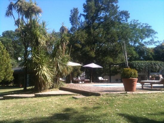 Haras San Blas: piscina