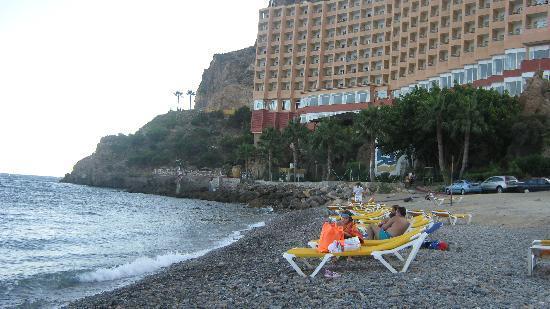 Diverhotel Aguadulce: vista al mar