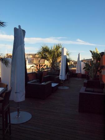 Hotel Villa Emilia: Rooftop Terrace