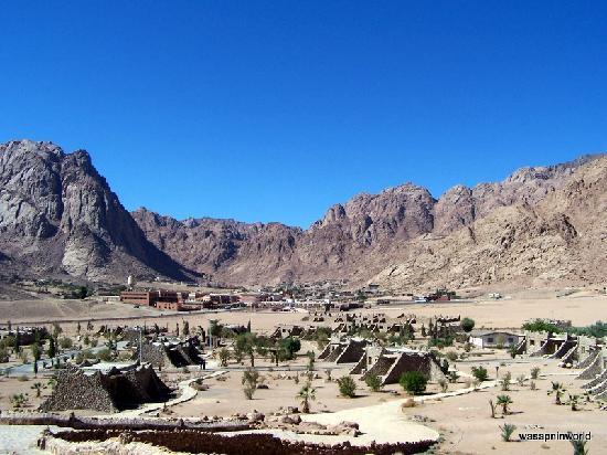 St. Katherine Tourist Village (Wadi Raha Hotel): View from the resturant