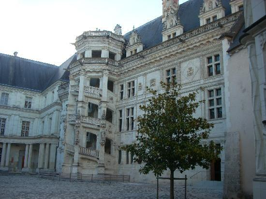 Chateau Royal de Blois: The Francis I wing is probably the most exciting; don't overlook the celebrated spiral staircase