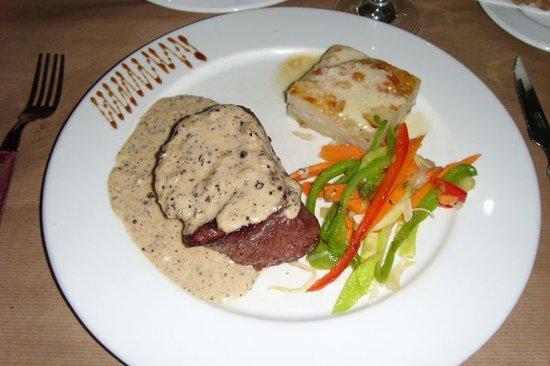 La Bohemia : Fillet Steak with Jamaican Sauce