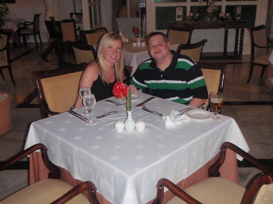 Luxury Bahia Principe Cayo Levantado Don Pablo Collection: we got engaged so our first dinner