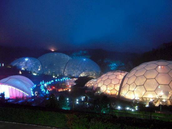 The Eden Project On A Rainy December Evening
